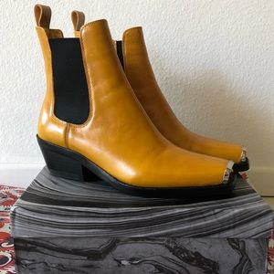Jeffrey Campbell Poker Boots in Mustard